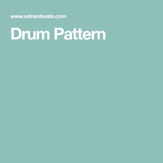 Drum Pattern