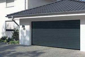 Dark Garage Door