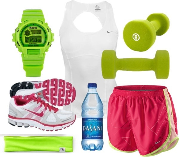 Nike Workout 2, created by qtpiekelso on Polyvore my-polyvore-creations