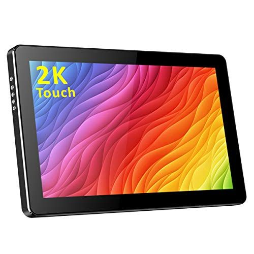 10 1 inch 2K Portable Touchscreen Monitor USB C/HDMI Display