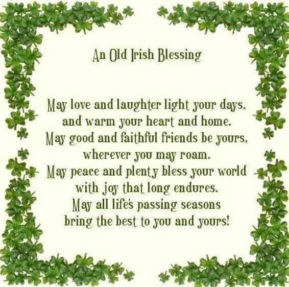 Best 25 Old Irish Blessing Ideas On Pinterest