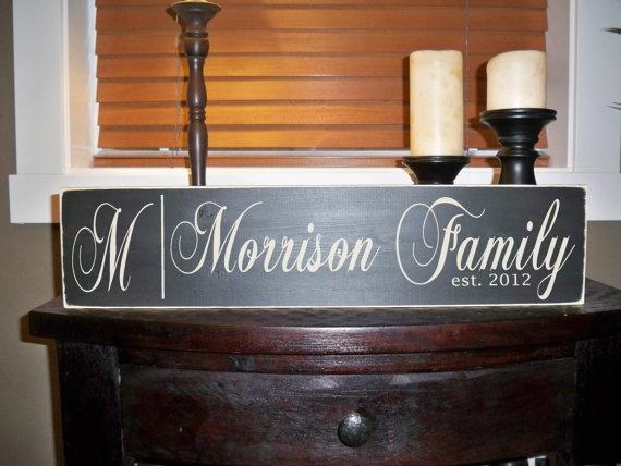 22 best Family Established Signs images on Pinterest Family - vinylboden f r k che
