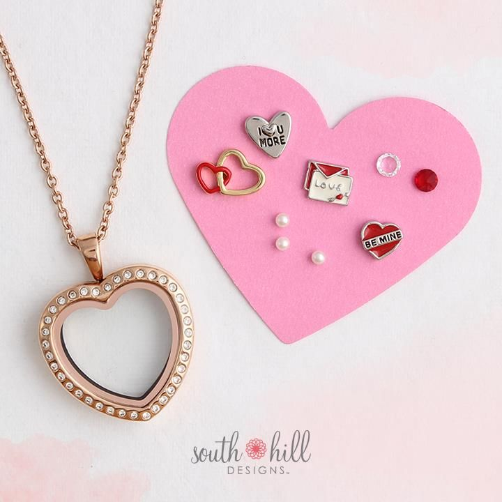 South Hill Designs - Valentine's Day Charm Pack
