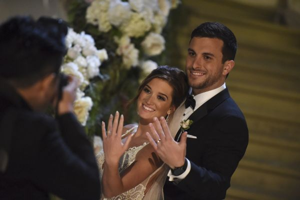Wedding in Paradise: The Bachelor's Jade Roper + Tanner Tolbert Tie the Knot! http://www.stylemepretty.com/2016/02/12/bachelor-wedding-jade-roper-tanner-tolbert/