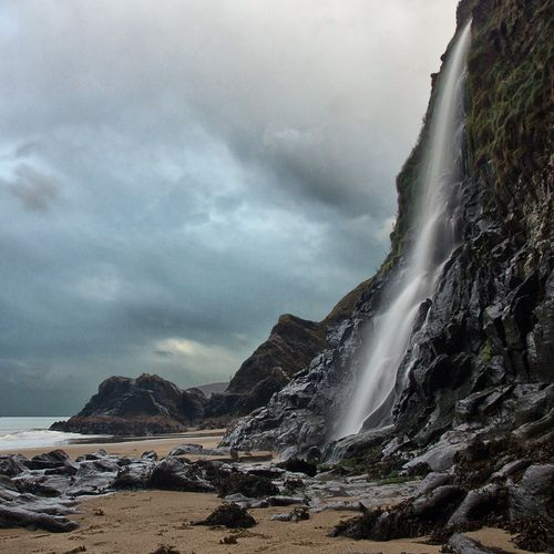 Tresaith, Carmarthenshire, west Wales, UK