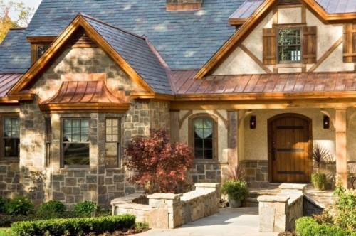 Exterior details stone copper hardware on door cypress for Cypress porch columns