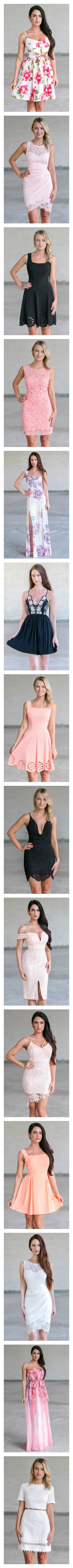 Cute dresses at Lilyboutique.com! FREE Shipping over $75!