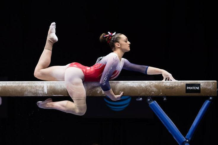 Maggie Nichols: glad to see her competing again after her injury