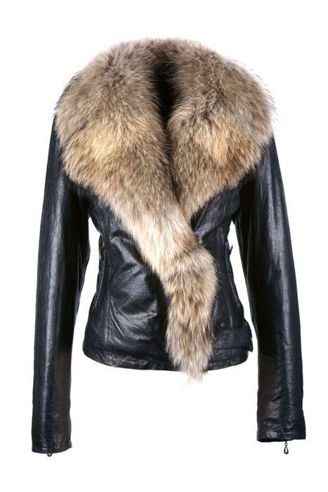 Кожаные куртки женские фото