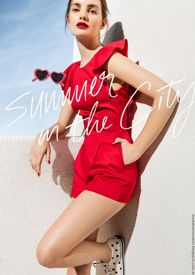 Moda primavera verano 2017, colección Las Oreiro primavera verano 2017. Moda vestidos, blusas, pantalones primavera verano 2017.