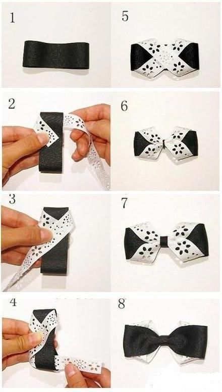 DIY Butterfly Bow