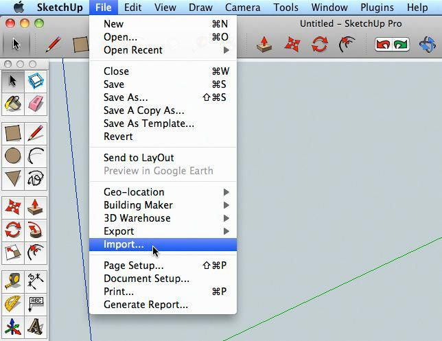Use A Photo To Make A Sketchup Model Woodworking Software