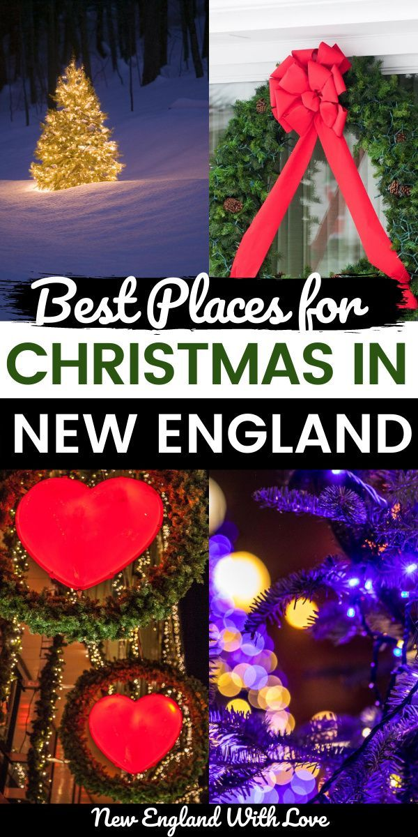 Christmas Show New England 2020 5 Magical New England Christmas Towns that are Straight Out of a