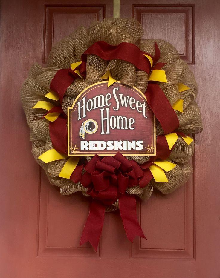 Washington Redskins Front Door Wreath#HTTR!