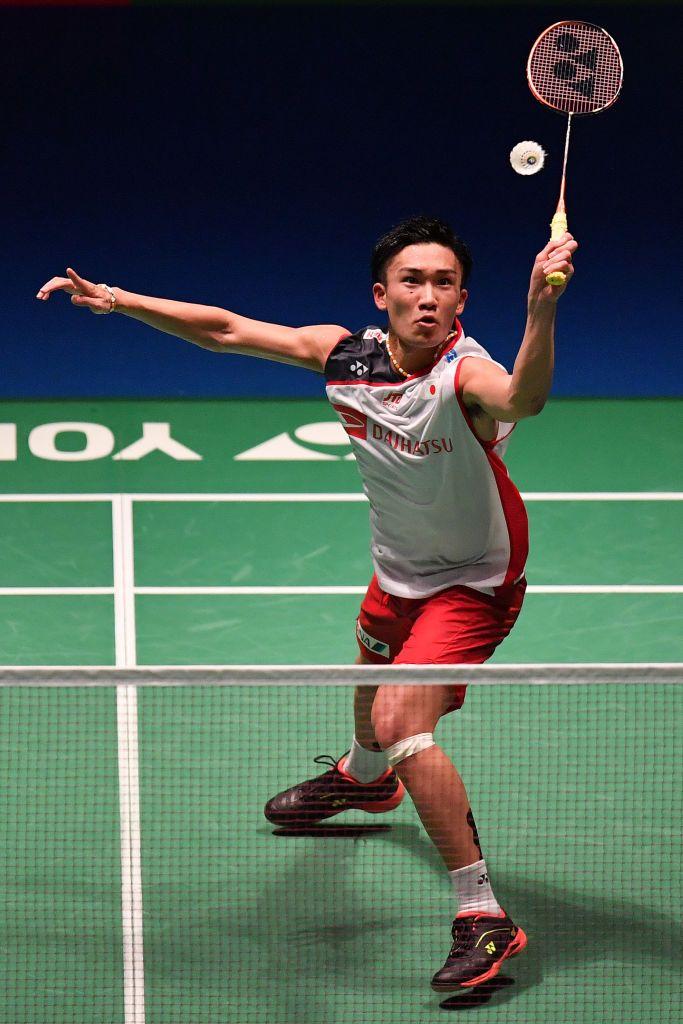 Kento Momota Of Japan Competes In The Men S Singles Semi Final Match Badminton Match Badminton Outfits Badminton Videos