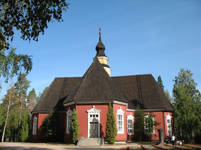 Kuortaneen kirkko. Kuva: MV/RHO Maria Kurtén 2006
