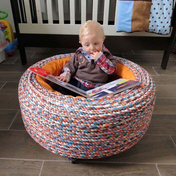 les 271 meilleures images du tableau recyclage de pneus sur pinterest recyclage pneus. Black Bedroom Furniture Sets. Home Design Ideas
