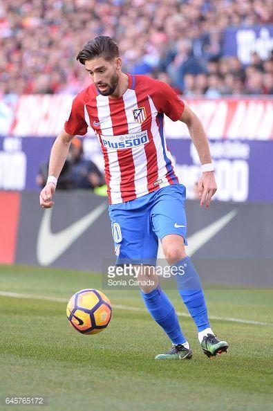 Fotografía de noticias : Carrasco, #10 of Atletico de Madrid during The La...