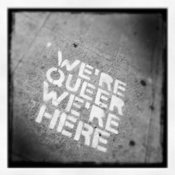 Pride. #instagram #gaypride #graffiti #queer