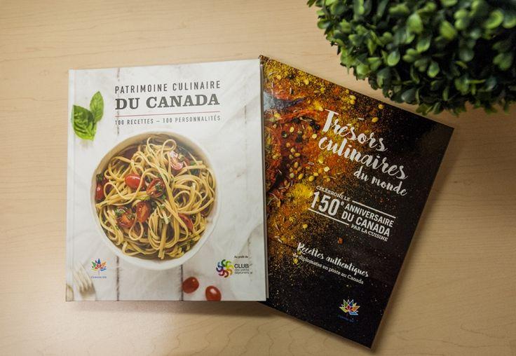 C'est un total de 30 000 exemplaires qui seront distribués pour les deux livres de recettes. (Photo: Jonathan Thibeault)