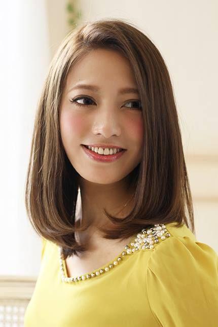 変わりたい女子必見!セミロング前髪なしヘアが絶対かわいい♡