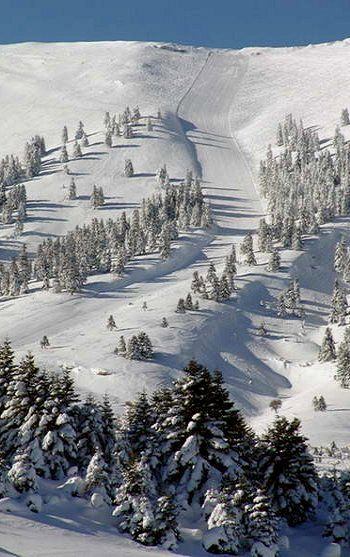 Kalavrita Ski Resort, Achaea, Greece
