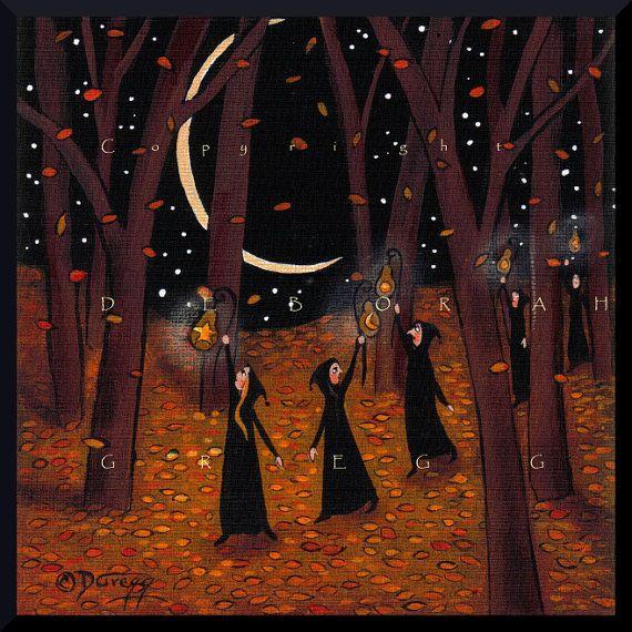 Je vais laisser il brille un petit automne automne par ChicorySkies