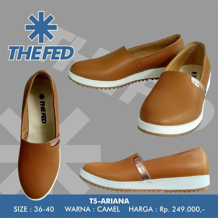 THE FED Footwear TS-ARIANA Camel  jujung@gmail.com