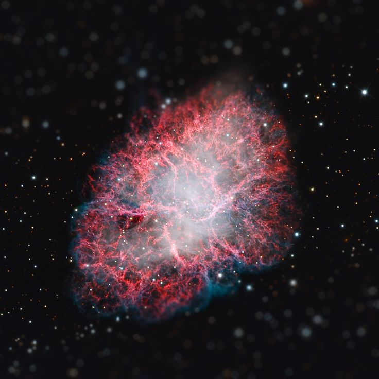 La Nebulosa del Cangrejo  [Imagen vía: http://apod.nasa.gov/apod/ap130905.html]