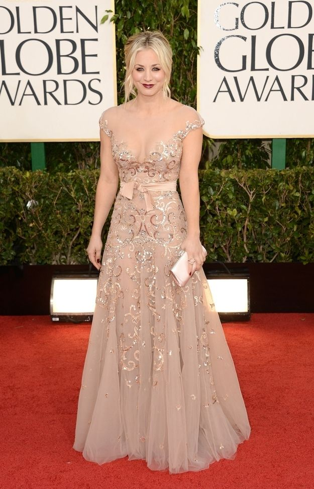 Fashion On The 2013 Golden Globe Red Carpet. If this wasnt so low cut...