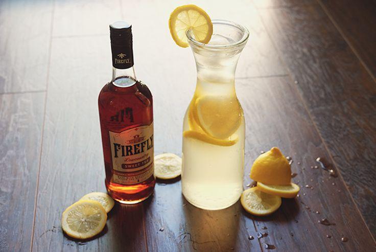 #fireflyspiritsweeter than a Firefly Classic Cocktail?   1.5 oz. Firefly Sweet Tea Vodka 3 oz. Lemonade   #SweetestDay #FireflySpirits