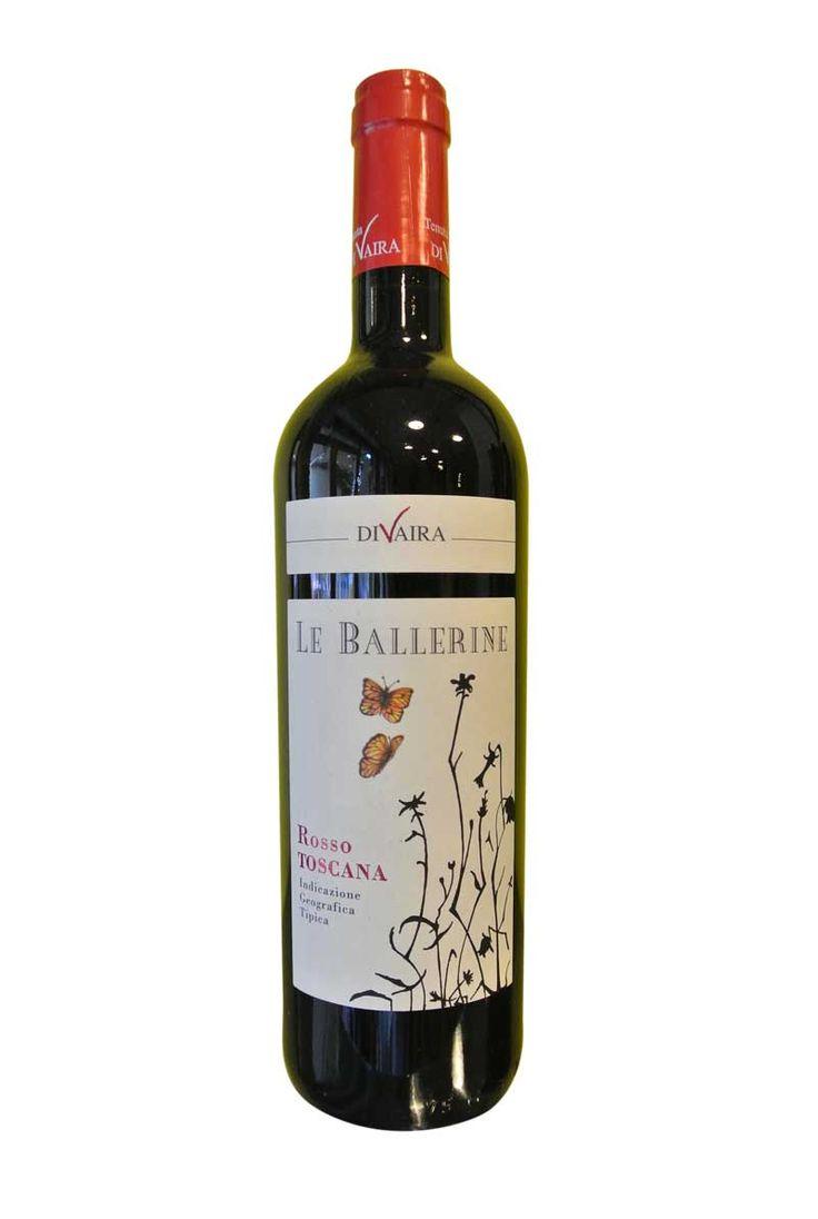 """http://www.worldwildwine.com/cat.asp?6_Le-Ballerine-Rosso-di-Toscana-IGT """"Le Ballerine"""" dal gusto pieno e sapido."""