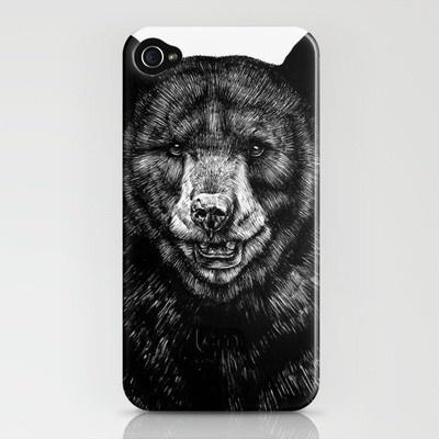 bear phone cover