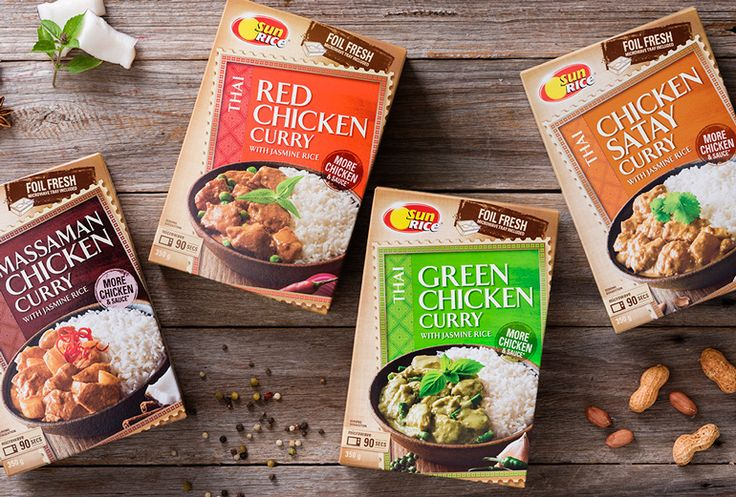 Boxer & Co. | Packaging & Branding Design | SunRice Meals