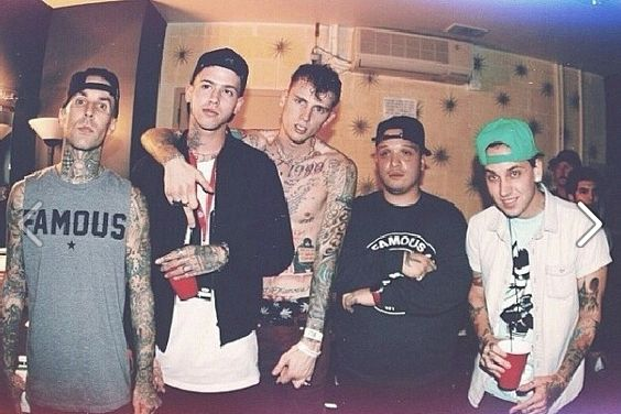 Alll the baesss: Blackbear, MGK, and T Mills <3