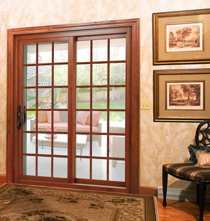190 best images about doors on pinterest for Center sliding patio doors