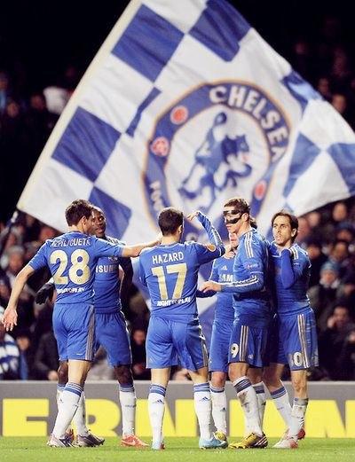 Chelsea FC!!! Can't wait to see them :)