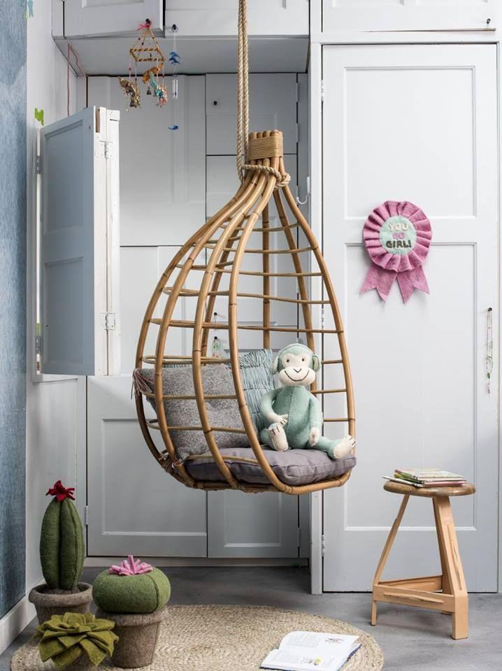 Nieuw! Hangstoel van Kidsdepot via Kikke Kids (via Kinderkamerstylist.nl)
