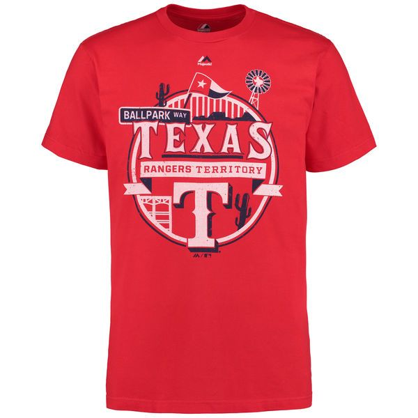 Texas Rangers Majestic It Matters T-Shirt - Red - $25.99