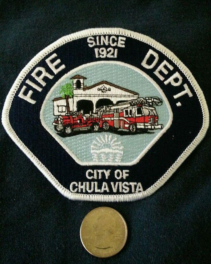 Chula Vista Fire Dept San Diego County California Fire