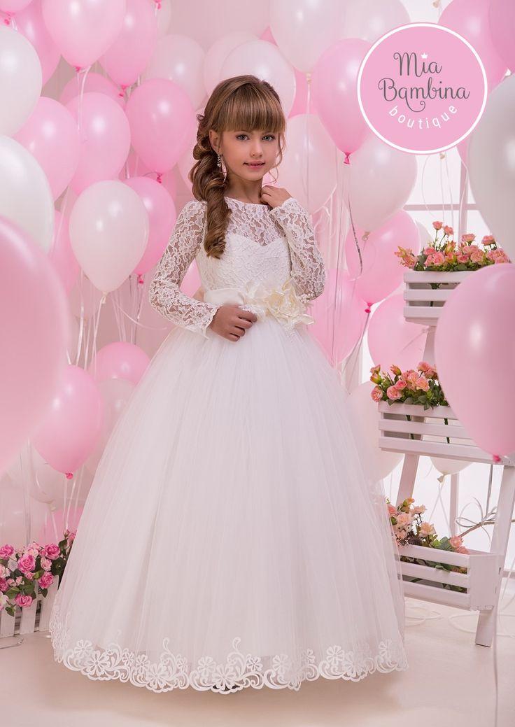 Mejores 38 imágenes de C first communion en Pinterest | Vestidos de ...
