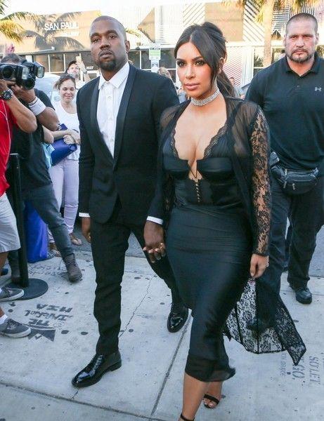 Kim Kardashian Photos - Celebrities Attend Isabela Rangel