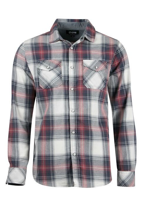RELAXED PLAID SHIRT