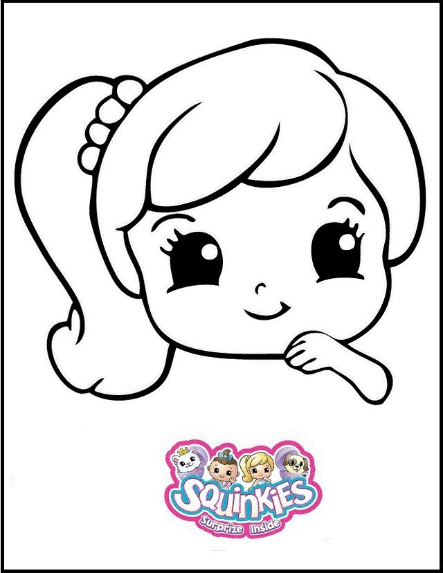 8 best Squinkies Coloring and Activity Pages images on Pinterest ...