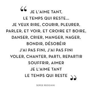 """""""Je l'aime tant, le temps qui reste..."""" Serge Reggiani #paris #13Novemvre2015 #DeuilNational ♥myfashionlove.com♥"""