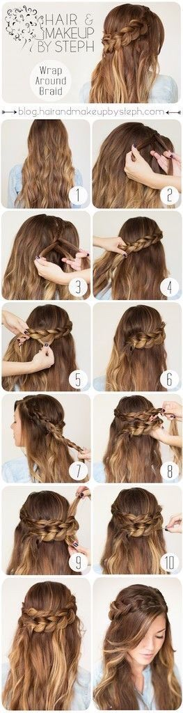 Image via We Heart It https://weheartit.com/entry/148964538 #girl #girly #good #hairstyle #me #teen #fallow