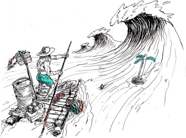 Illustration by Nanda Ormond for TCSS Summer 14/15