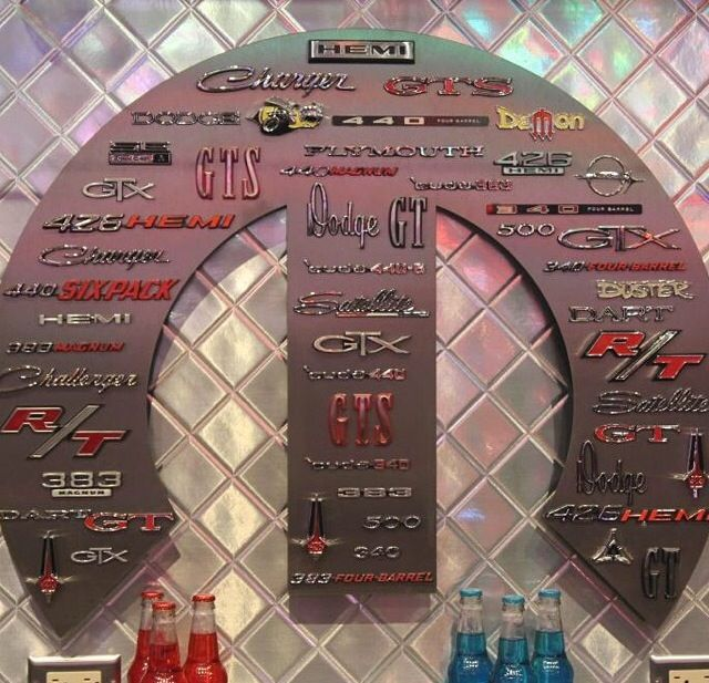 Awesome mopar sign wish I knew where to get one!                                                                                                                                                      More