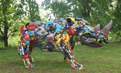 Kunstwerk van afval | Materialen | Pinterest