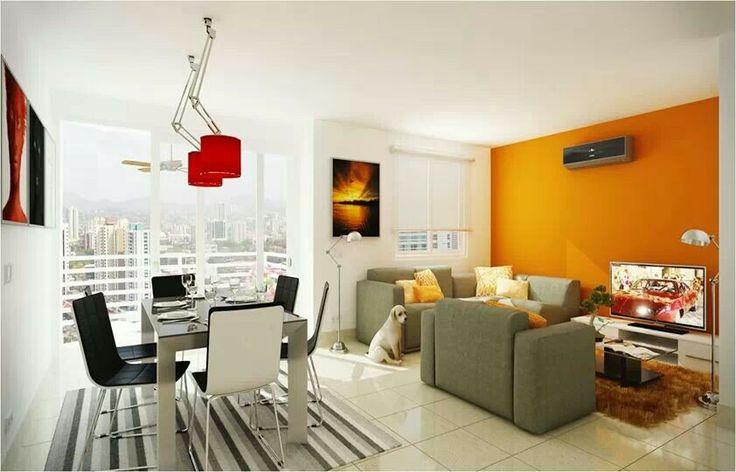 Decoraci n para apartamentos peque os apto pinterest for Decoracion de salas apartamentos pequenos